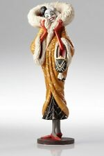 Disney Show Case Couture de Force 101 Dalmatians Cruella Art Deco Figurine New