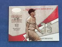 ROGER MARIS 2004 DONRUSS GAME USED JERSEY RELIC CARD ATHLETICS