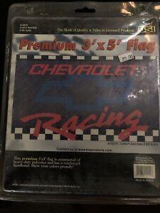 Chevrolet Racing Premium  3x5 ft Flag From BSI Brand New