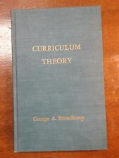 1961 Curriculum Theory by Gearge A. Beauchamp First Edition HC VGC - EC