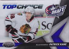 10-11 Certified Patrick Kane /100 Top Choice Draft MIRROR BLUE Blackhawks 2010
