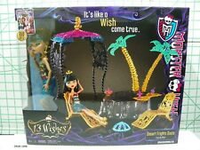 Monster High 13 Wishes Desert Frights Oasis Cleo De Nile Play Set New