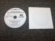 2007 Hyundai Elantra Electrical Wiring Diagram & Shop Service Repair Manual DVD