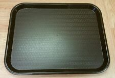 "Carlisle (NCT 1418) Black Fast Food Cafeteria School Lunch Tray! 18"" x 14"""