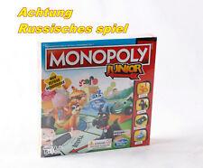 Hasbro A6984 Monopoly Junior Brettspiel Kinderspiel Gesellschaftsspiel RUSSISCH