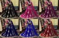 Indian Pakistani Bridal Lehenga Choli Bollywood Designer Wedding Lehnga Dresses