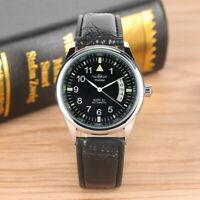 Top Brand Winner Watches Men's Military Automatic Mechanical Watch Leather Band