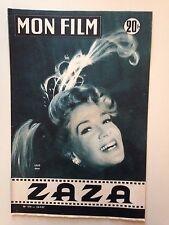 MON FILM N°570 1957 ZAZA / LILO