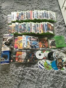 76 Xbox 360 Original Xbox & Xbox One PS3 WII PS1 Video Games Mix Joblot UNTESTED