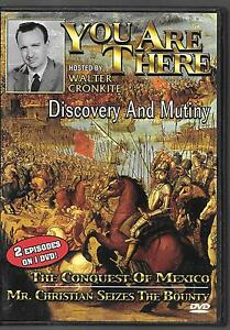 You are There - Discovery and Mutiny/ The Conquest of Mexico USED DVD
