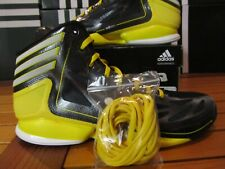 DS Adidas AdiZero Crazy Light 2 Black Wht Yellow 11 G59160 Basketball Shoes rose