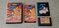 Thunder Force III 3 iii Sega Genesis Game CIB Complete w/ Case Box & Manual Lot!