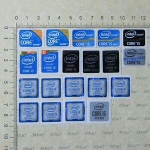 intel Core i5 Sticker (1st 3rd 4th 6th 7th 8th 9th 10th Gen) Sticker x 12 PCS