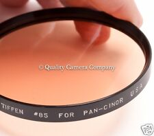 Tiffen #85 Filter for Pan-Cinor - CLEAN, CLEAR UNMARKED IN PROTECTIVE CASE - EX