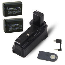 Vertical Battery Grip Holder +2 pc NP-F750 For Sony A6000 DSLR Camera as BG-3DIR