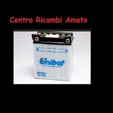 BATTERIA MOTO SCOOTER UNIBAT CB12A-A CAGIVA Aletta Oro EI. - Starter 125