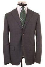 VTG JIL SANDER Tailormade Prototype Gray Wool PEAK LAPEL Sport Coat Jacket 48 38