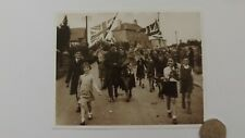 Art print. Oreston,Sth.Devon. Sgt.Tucker home from POW camp May 1945