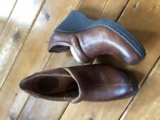 Born 9 Women's Brown Leather Oxford Shoes-Excellent!!!