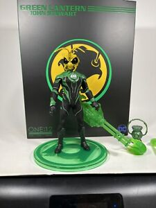 Mezco One:12 GOMEZ GOLDEN DRAGON YELLOW HEAD Green Lantern John Stewart Custom