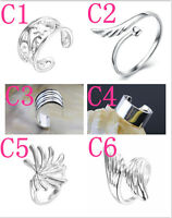 30 Style Wholesale Fashion Jewelry 925 Sterling Silver Women/Men Rings Gift SIZE