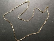 9ct Yellow Gold Chain Necklace 20inch 4g.