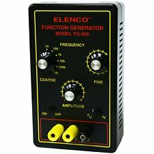 Elenco Fg 500 1mhz Assembled Function Generator Also Available In Kit Form