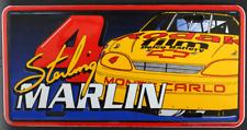 Sterling Marlin #4 NASCAR Kodak Film Chevy Monte Carlo Racing License Plate