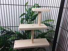 Shelf Tower - 3 Tier Ledges - Furniture Rat Degu Chinchilla Cage