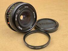 Vivitar 28mm f/2.8 Auto VMC Manual Focus Pentak K mount Lens