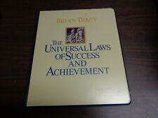 Brian Tracy's, The Universal Laws of Success and Achievement, 8 Cassette Set