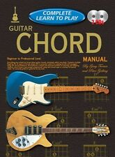COMPLETE LEARN TO PLAY Guitar Chord Manual + CD