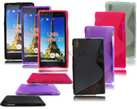 NEW STYLISH S LINE GEL SOFT BACK PHONE CASE COVER FOR SONY XPERIA Z1 L39H