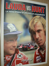 LIBRO BOOK PHOTO LAUDA VS HUNT LA VERA STORIA DI UN DUELLO LEGGENDARIO 155 PAG.