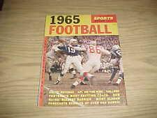 1965 Sports Review Football Magazine Johnny Unitas Baltimore Colts Cover