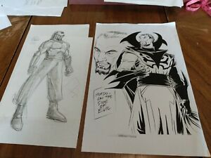Marvel animation art MOVIE CONCEPT ART  Comics DOCTOR STRANGE DR. STRANGE MORDO