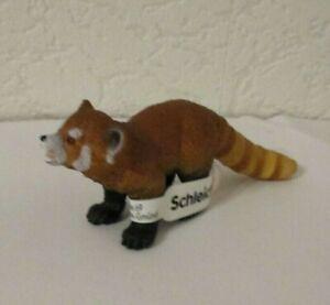 Schleich   -      Roter Panda  ( Mit Fähnchen )