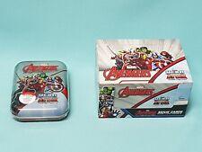 Topps Marvel Avengers  Hero Attax  1 x Display / 24 Booster + Mini Tin Box