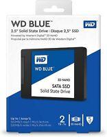 """WD Blue 2TB SATA 2.5"""" Internal SSD (WDS200T2B0A)"""