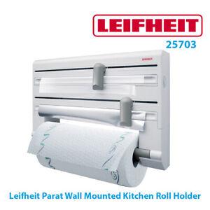 Leifheit Parat Wall Mounted Kitchen Roll Holder 25703