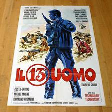 IL 13° UOMO manifesto poster Un homme de trop Michel Piccoli Jean-Claude Brialy