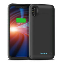 6500mAh Backup External Power Battery Pack Case Cover For iPhone X XS