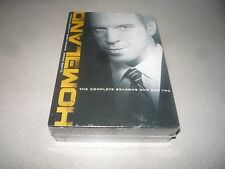 HOMELAND - THE COMPLETE SEASONS ONE AND TWO DVD BOX SET