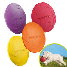 Trixie Dog Disc Natural Rubber Frisbee Fetching Toy for Dog / Puppy Training