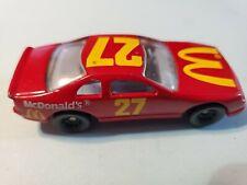 Vintage 1993 Hot Wheels MCDONALDS THUNDERBIRD #27 NASCAR Racecar Red Ford