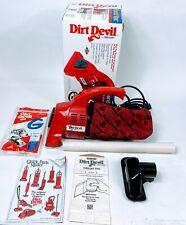 Dirt Devil Handheld Vacuum Cleaner Model DD122 (G6) w/ Accessories Tested Works