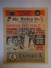 The Hockey News November 17, 1972 Vol.26 No.7 Plager Achon Curtis Dryden Nov '72