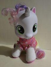 My Little Pony So Soft Talking Newborn Baby Unicorn Plush Speaks French