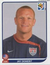 N°206 JAY DEMERIT # USA STICKER PANINI WORLD CUP SOUTH AFRICA 2010