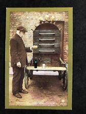 Vintage Real Photo Postcard #TP1603: Nostalgia Series: Baker Potato Man 1903